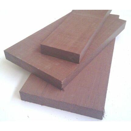 Wenge fa fűrészáru hobbyfa 26 mm 1000 mm alatt OF. szélezett szárított