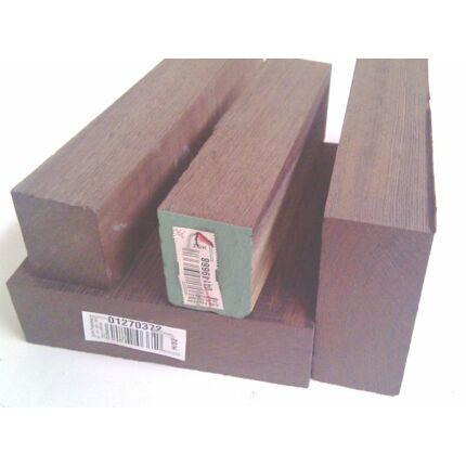 Wenge fa fűrészáru hobbyfa 52 mm 1000 mm alatt OF. szélezett szárított