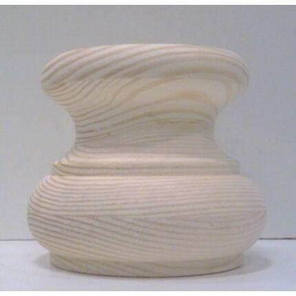 Bútorláb fa szekrényláb nyakas erdeifenyő átm.  80x70 mm esztergált MF  HU++ borovi