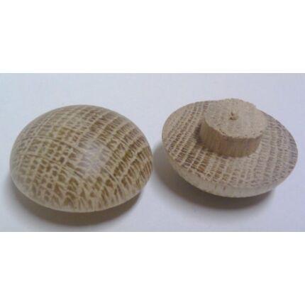 Csavartakaró gomb  tölgyfa vegyes méret 10 db / csomag furattakaró MF HU++