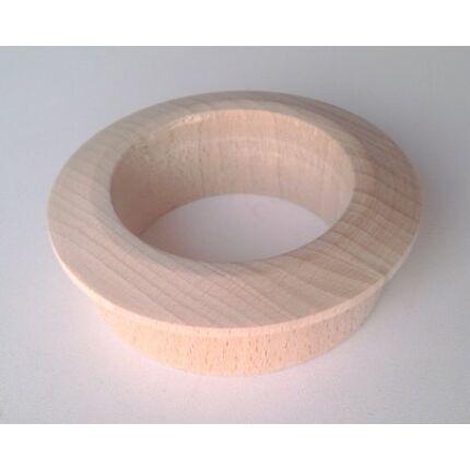 Szellőző fakarika bükkfa átm. 70 mm lyukra illeszthető 5 mm peremmel
