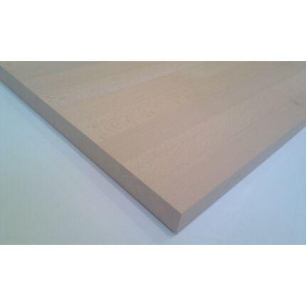 Konyhai munkalap táblásított bükkfa gőzölt TM 30 mm 1400x650 mm  A  min 0,91 m2/tábla toldás mentes