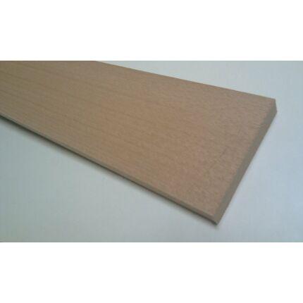 Gőzölt bükkfa fűrészáru hobbyfa 10x110x800 mm