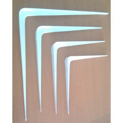 Polctartó konzol fém fehér 300x350 mm kb. 15 kg terhelés karonként