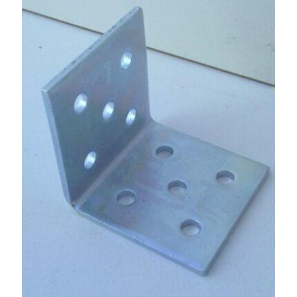 Hajlított perforált acél lemez 40x40x40x1,5 mm horganyzott sarokvas  HU+