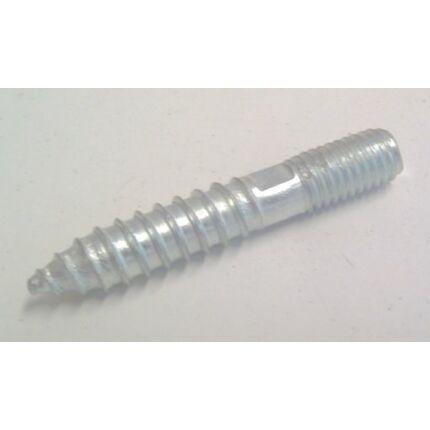 Bútorláb csavar M8x45 mm M8-as metrikus és famenetes vég (ászok csavar)