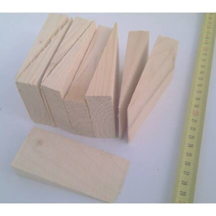 Faék lucfenyő 45-60x90x20 mm 10 db/csomag HU++