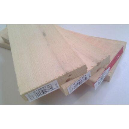 Abachi fa fűrészáru hobbyfa 33 mm 1000 mm alatt OF. szélezett szárított wawa ayous samba