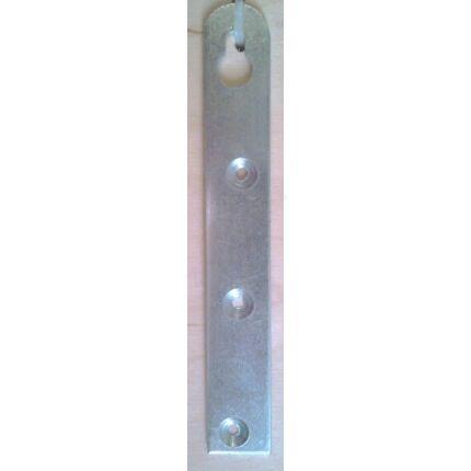 Bútorakasztó fül egyenes 18x90 mm horganyzott