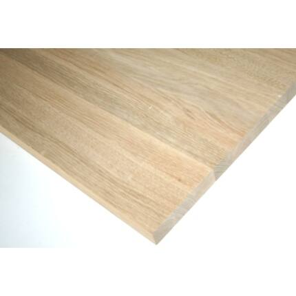 Asztallap táblásított tölgyfa TM 45 mm  900x800 mm 0,72  m2 / tábla HU++