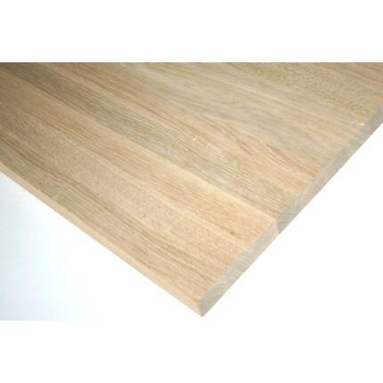 Asztallap táblásított tölgyfa TM 44 mm  800x740 mm 0,59  m2 / tábla HU++