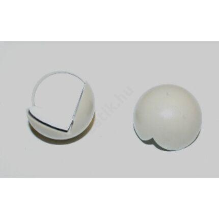 Sarokvédő műanyag gömb átm. 26 mm fehér színű 2 db/csomag