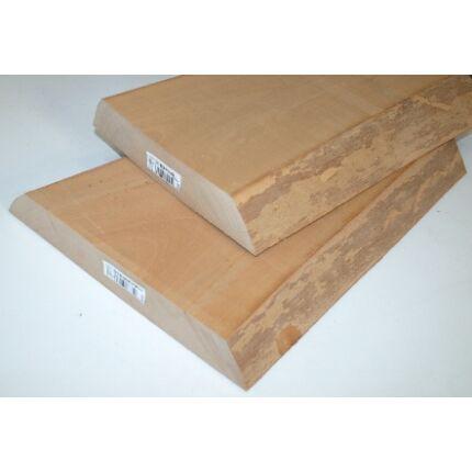 Gőzölt bükkfa fűrészáru hobby fa 50 mm OF.  1000 mm alatt szátrított
