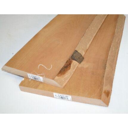 Gőzölt bükkfa fűrészáru hobby fa 26 mm OF. 1000 mm alatti szárított