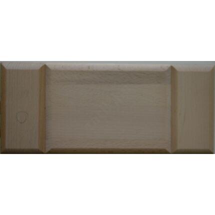 Bútorfiókelő bükkfa C 126x397 mm betétes tele