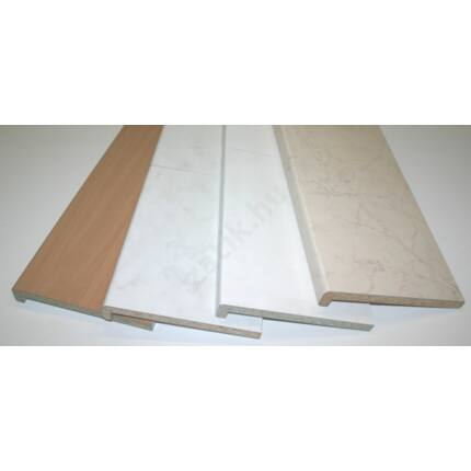 Ablakpárkány beltéri 1300x250 mm hoszában toldott vegyes színek