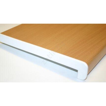 Ablakpárkány  oldal élzáró műanyag fehér színű 2 végre / egy szál
