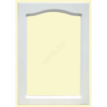 Bútorajtó MDF fóliás fehér   713x497 mm üvegezhető