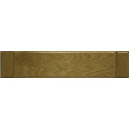 Bútorfiókelő tölgyfa C 126x597 mm lakkozott felületű