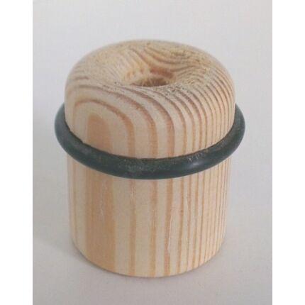 Ajtóütköző padlóra  fenyőfa átm. 36x40 mm borovi fenyőfa MF HU++