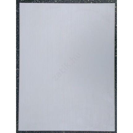 Bútorajtó dekorfóliás galamb szürke szinű 590x440 mm műanyag élléccel zárt