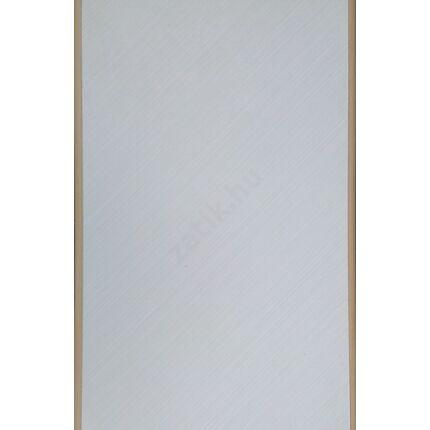 Bútorajtó dekorfóliás karamell + bükkfa szín  590x390 mm kerekített éllel