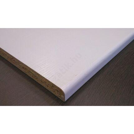 Bútorajtó dekorfóliás fehér erezett 590x440 mm kétoldalt kerekített