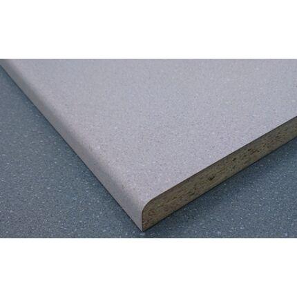 Bútorajtó dekorfóliás szürke szinű 590x390 mm kétoldalt kerekített