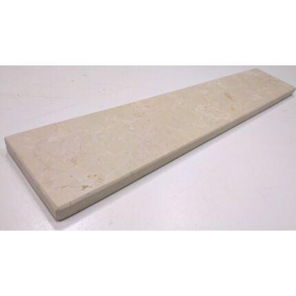 Ablakpárkány kültéri világos barna bézs színű 1240x120x20 mm Kanfanar mészkő