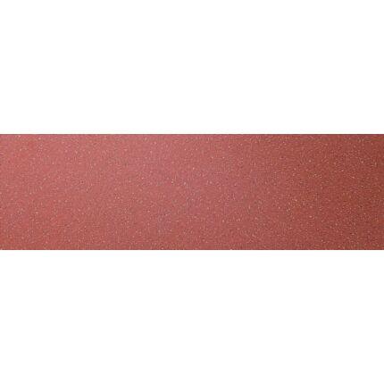Bútorfiók dekorfóliás vörös színű 126x490 mm kétoldalt kerekítve