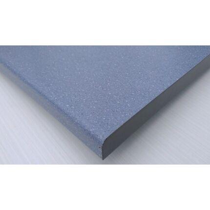 Bútorajtó dekorfóliás kék szinű 590x390 mm kétoldalt kerekített