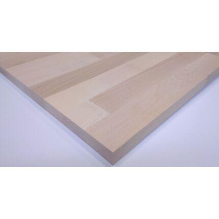 Konyhai munkalap táblásított bükkfa gőzölt HT 35 mm 1750x650 mm  A  min 1,13 m2/tábla