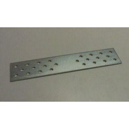 Perforált acél toldólemez lap 40x200x2 mm horganyzott