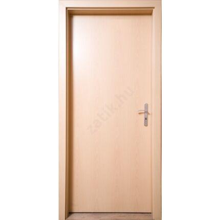 Beltéri ajtó  dekorfóliás Bükk szín  90x210x33 cm tele jobbos JW 73 utólag szerelhető ÁTFOGÓ tokkal