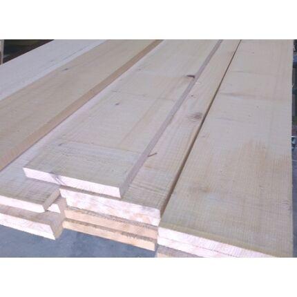 Fenyő fűrészáru  deszka 25x200x4000 mm Prémium építő szélezett