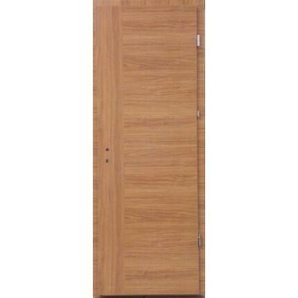 Beltéri ajtó dekorfóliás  cseresznyefa  V szín 90x210x12 cm tele jobb 3 pántos MAS20