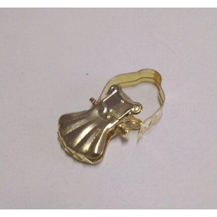 Függönycsipesz arany színű karniscsipesz 10 db/csomag CZ HU+