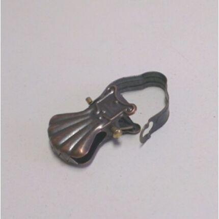 Függönycsipesz bronz színű karniscsipesz 10 db/csomag CZ HU+