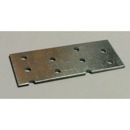 Perforált acél lemez lap 96x 40x2 mm horganyzott