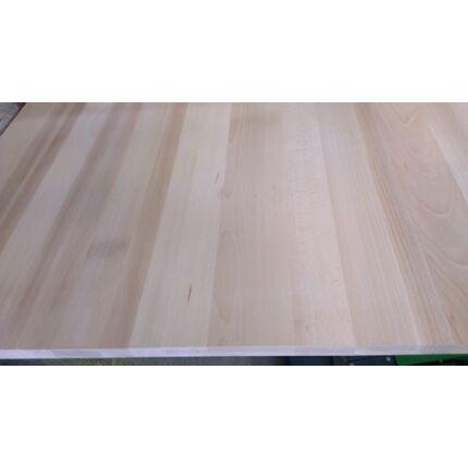 Konyhai munkalap táblásított bükkfa gőzölt TM 35 mm 1300x650 mm  A  min 0,845 m2/tábla toldás mentes
