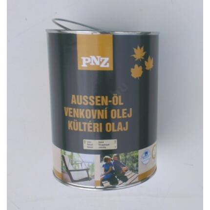 Faápoló keményolaj kültéri  UV álló színtelen  2,5 L 15 m2 / liter PNZ