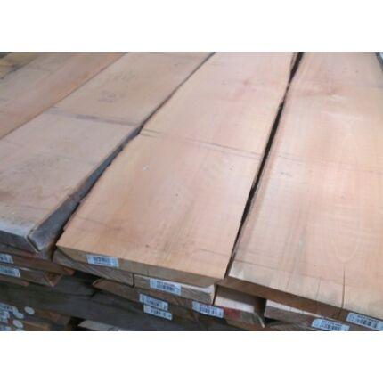 Gőzölt bükkfa fűrészáru 27 mm OF. 2 m felett szárított osztályon felüli