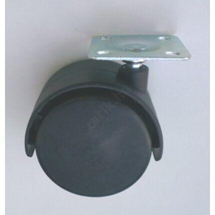 Bútorgörgő fotelgörgő átm. 50 mm talpas fekete
