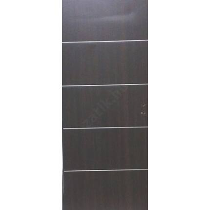 Beltéri ajtó dekorfóliás  wenge szín  90x210x12 cm jobbos  tele A3  MAS 212 utólag szerelhető tokkal