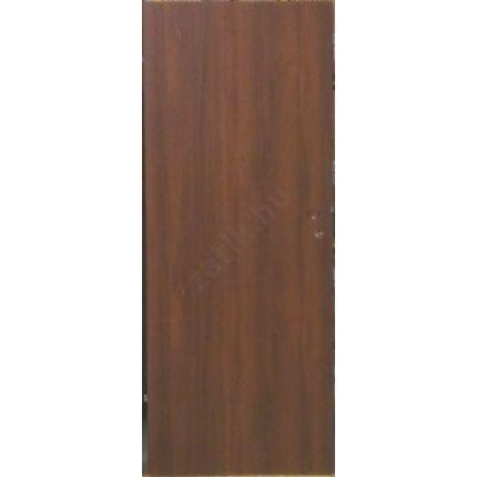 Beltéri ajtó dekorfóliás  dió szín  65x210x10 cm  tele balos MAS54 utólag szerelhető tokkal