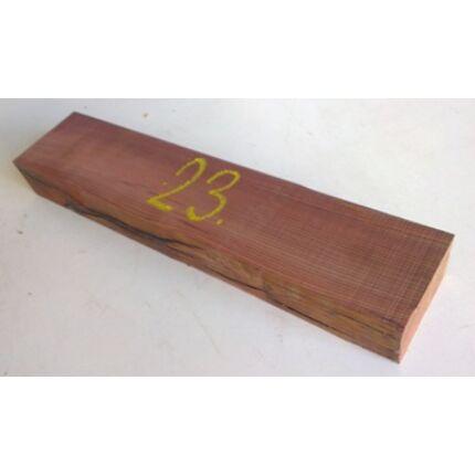 Kingwood királyfa hobby fa 40x50x350 mm 23. sz
