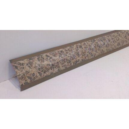 Konyhai munkalap  vízzáró profil  WAP Tizian Gold 3000 mm  óarany szín