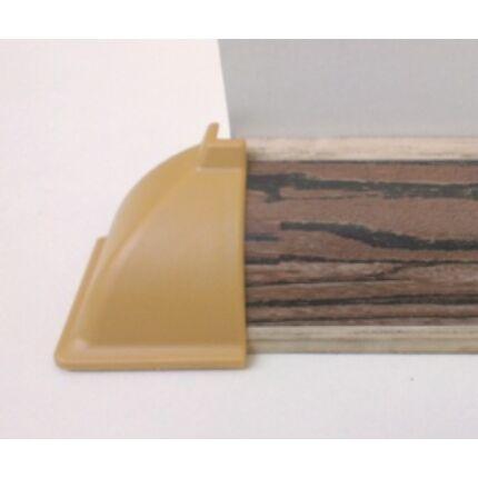 Konyhai munkalap   vízzáró profil WAP  bézs szín külső sarok