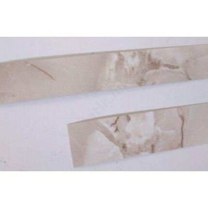Konyhai munkalap   éldekor végzáró 35x 600 mm barna márvány szín 2 db/ csomag