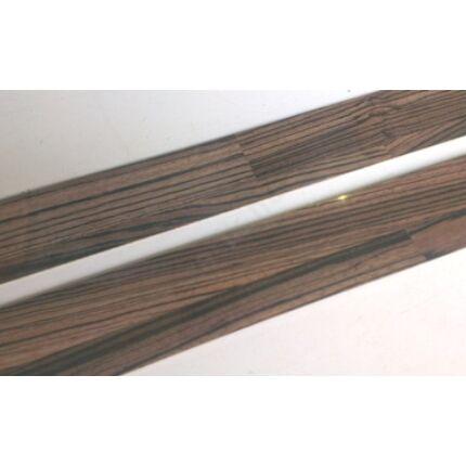 Konyhai munkalap   éldekor 45 mm  Zingana szín  2800 mm sötét dió